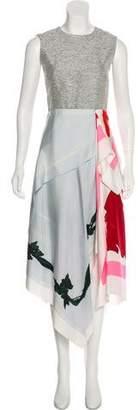 Christian Dior Silk Brushstroke Dress