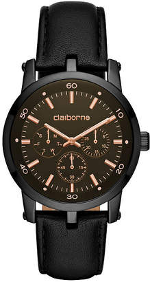 Liz Claiborne Mens Blue Strap Watch-Clm1217