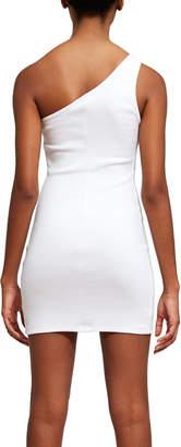 Callipygian One Shoulder Dress