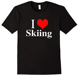 I Love Skiing Shirt