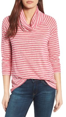 Women's Gibson Raglan Sleeve Cowl Neck Sweater $49 thestylecure.com
