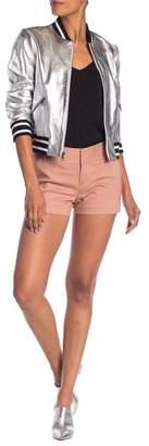 Alice + Olivia Cady Solid Shorts