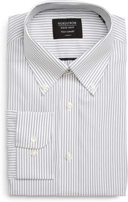 Nordstrom Tech-Smart Classic Fit Stretch Stripe Dress Shirt