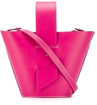 Carolina Santo Domingo open-top bucket bag