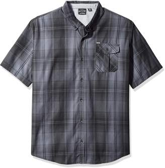 Burnside Men's Prime Short Sleeve Fashion Woven