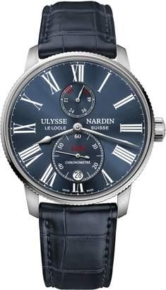 Ulysse Nardin Stainless Steel Marine Torpilleur Automatic Watch 42mm
