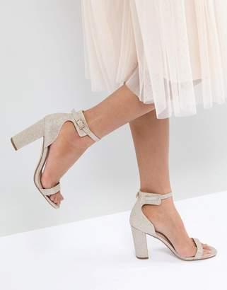 Office Hip Heeled Sandals