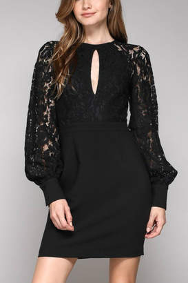 Do & Be Life-Of-The-Party Lace Dress