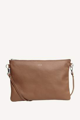 Dagmar Leather Strap Bag Chrome Free Leather