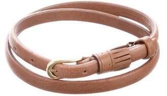 Chloé Leather Tassel Belt