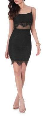 Terani Couture Glamour by Lace Bodycon Dress