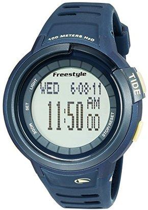 Freestyle (フリースタイル) - [フリースタイル]Freestyle 腕時計 シャーク MARINER TIDE 10気圧防水 タイドグラフ ネイビー FS10022920 メンズ 【正規輸入品】