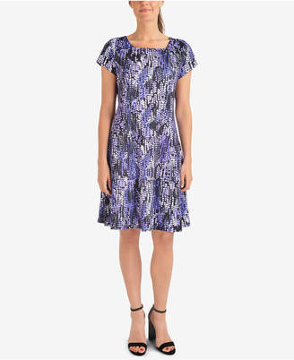 NY Collection Printed Dress