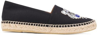 Kenzo Tiger embroidery espadrilles