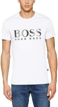HUGO BOSS BOSS RN T Shirt in with Black Writing 2XL