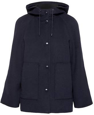 Banana Republic Petite Double-Face Hooded Jacket