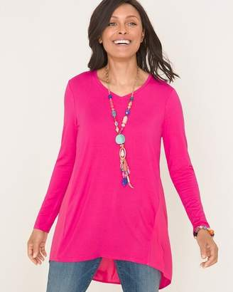 Chico's Chicos Woven-Back Tunic