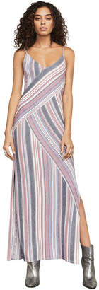 BCBGMAXAZRIA Dayln Stripe Jacquard Maxi Dress