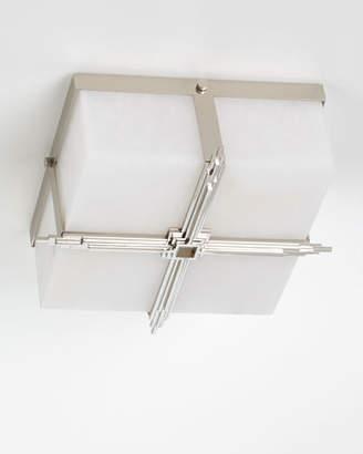 Regina-Andrew Design Regina Andrew Design Gotham Polished Nickel Flush Mount Ceiling Light