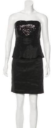 Calvin Klein Sequined Mini Dress