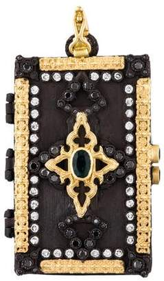 Armenta Tourmaline & Diamond Locket Pendant