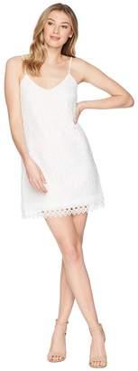 BB Dakota Jemma Geometric Lace Slip Dress Women's Dress