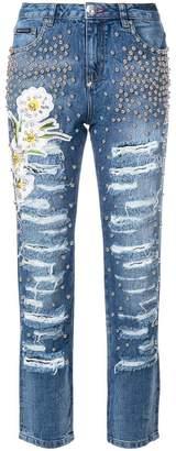 Philipp Plein Light Melissa Boyfriend jeans