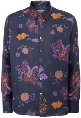 Dragon Optical A Kind Of Guise Dharan Print Shirt
