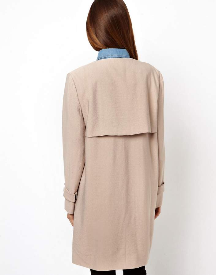 Asos Relaxed Trench
