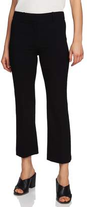 1 STATE 1.STATE Crepe Kick Flare Ankle Pants