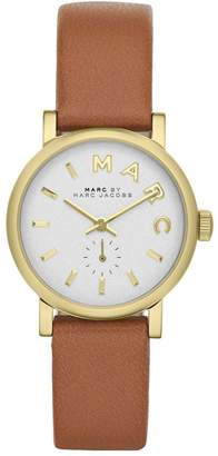 Marc Shoes by Women's Baker MBM1317 Leather Leather Swiss Quartz Watch