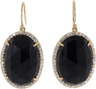 Irene Neuwirth JEWELRY Rose Cut Black Onyx Earrings