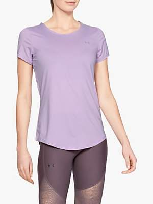 Under Armour Sport Short Sleeve Training T-Shirt, Purple