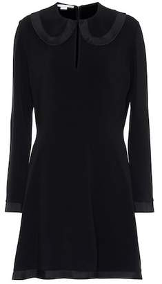 Stella McCartney Crêpe fit-and-flare dress
