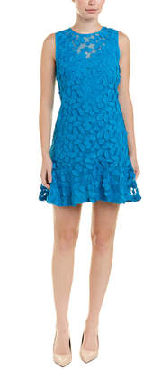 Trina Turk Ruffled Shift Dress