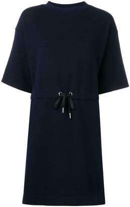 Dondup drawstring T-shirt dress
