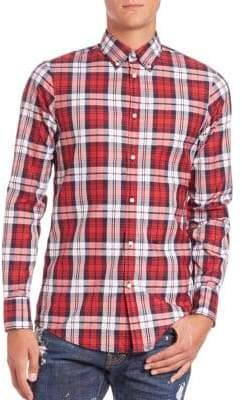 DSQUARED2 Classic Check Sportshirt