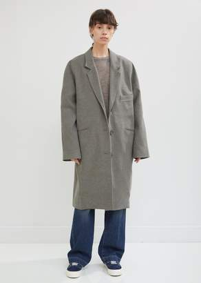 6397 Felted Single Breasted Coat