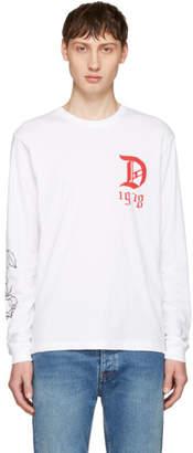 Diesel White T-Joe-LS-QA T-Shirt