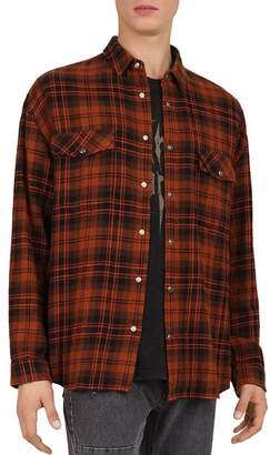 The Kooples Oversized Check Shirt
