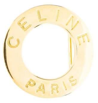 Celine Logo Belt Buckle