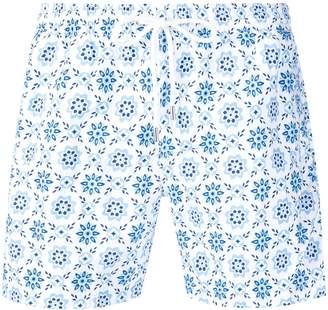 Eleventy patterned swim shorts