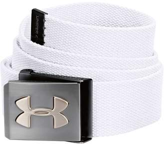 Under Armour Webbed Belt White