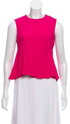 Rachel Comey Textured Sleeveless Cropped Top