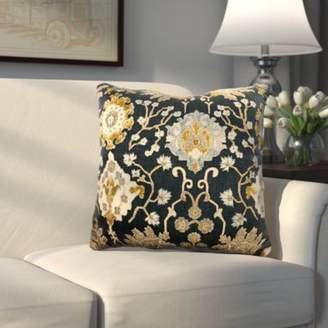 Three Posts Ghent Tapestry Outdoor Throw Pillow
