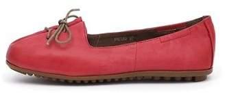 Django & Juliette New Ballad Red Womens Shoes Casual Shoes Flat