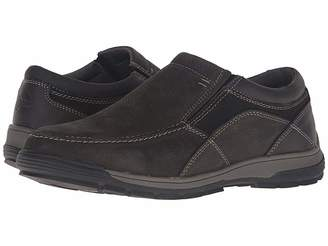 Nunn Bush Lasalle Twin Gore Moc Toe Slip-On All Terrain Comfort Men's Slip on Shoes