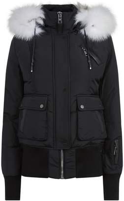 Nicole Benisti Fur Lined Bomber Jacket