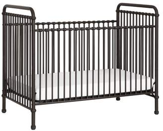 Franklin & Ben Abigail 3-in-1 Convertible Crib With Toddler Bed Conversion Kit,, Vintage Iron