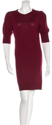 Fendi Wool Silk-Blend Sweater dress